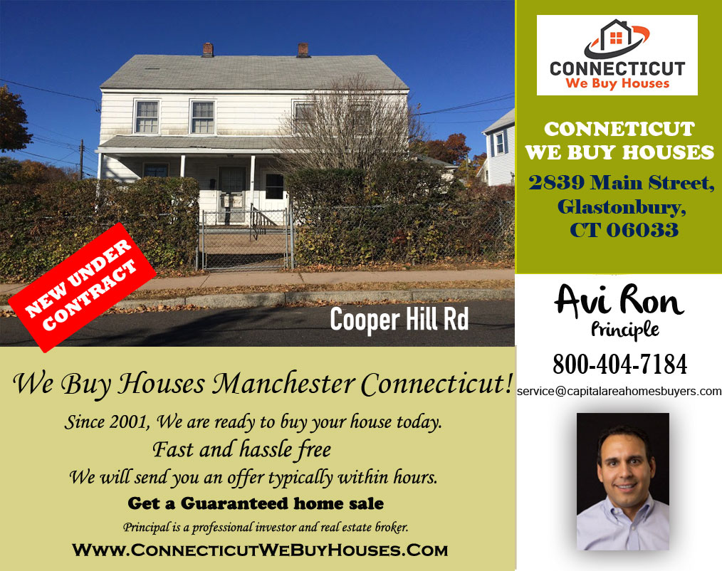 We Buy Houses Manchester Connecticut